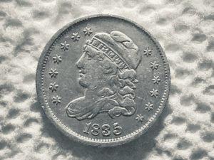 1835 Bust Cap Half Dime