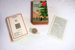 I Ching cards and coins - fortune telling
